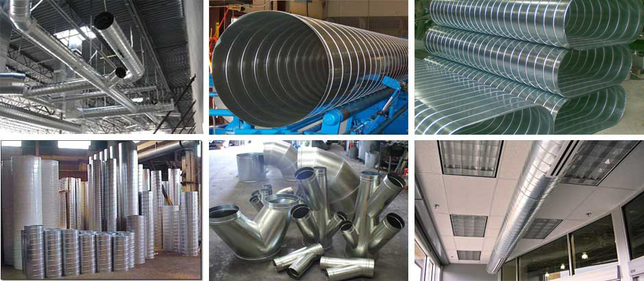 Industrial Cooling Duct : Devduct manufacturers and suppliers of fresh air ac
